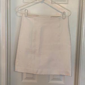 High Waisted Textured Pencil Skirt
